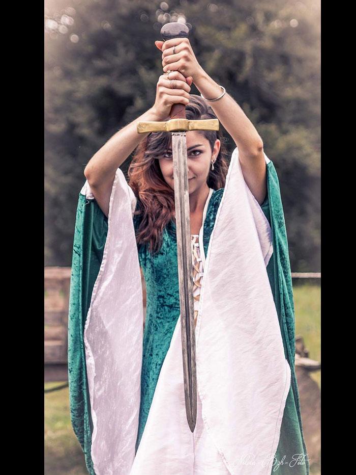 patron robe medievale femme gratuit - Patron de couture